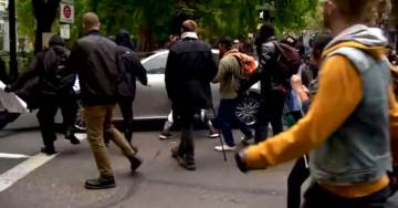 """Portland Police Want To Charge Driver With Crimes After Escaping Mob Protest – Violent Protesters Considered """"Victims"""""""