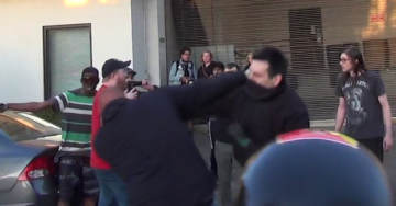 VIDEO: Antifa vs. Trump Supporters Brawl In Portland – Reporter Andy Ngo Assaulted, Antifa Girl Knocked Unconscious