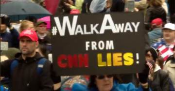 Mainstream Media Ignore Over 5,000 Urging Americans to #WalkAway from Democrat Party