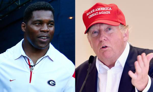 President Trump Endorses Herschel Walker in Georgia Senate Race Defying Mitch McConnell and RINO Dirtbags