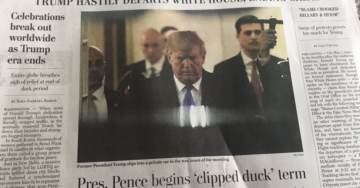 Far Left Now Printing Fake WaPo Newspapers As If the Real WaPo Is Not Crazy Enough