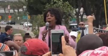 MAXINE WATERS DOUBLES DOWN – Tells Cheering Democrat Mob to Get Out and Abuse Republicans in Public (VIDEO)