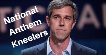 Beto O'Rourke To Bring National Anthem Kneelers To Democratic Debate As Guests (VIDEO)