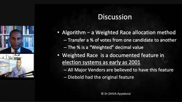 """Dominion Voting Machines ALL INCLUDE """"Weighted Race Feature"""" Whose Only Purpose Is Cheat in Elections — We Contacted Dominion But Did Not Get a Response 2"""