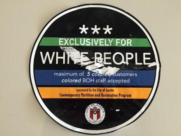 white people stickers