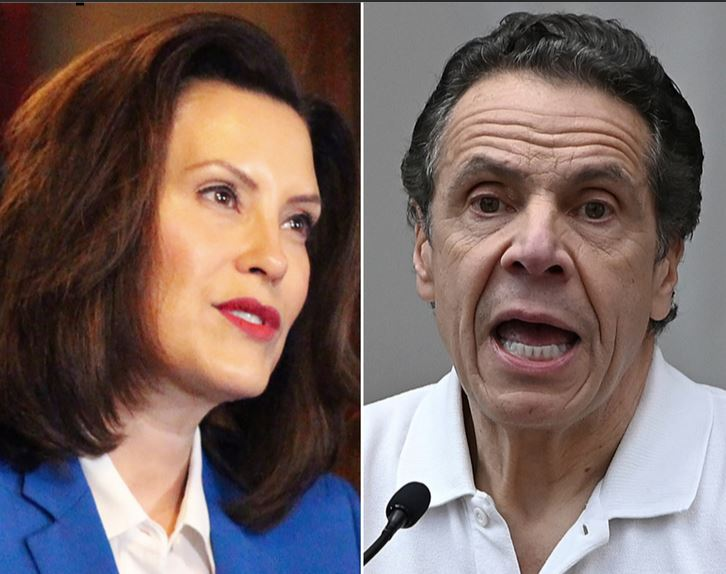Why Are These Four Democrat Governors Given a Pass After Sending Sickly COVID Spreaders to Nursing Homes Like Gov. Cuomo?