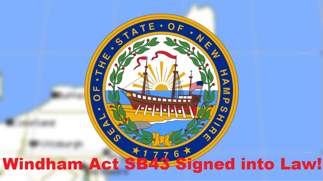 BREAKING: New Hampshire Governor SIGNS SB 43 INTO LAW! – Mandates Audit of Windham's Fraudulent 2020 Election Results!
