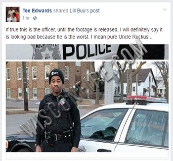 wisconsin police officer