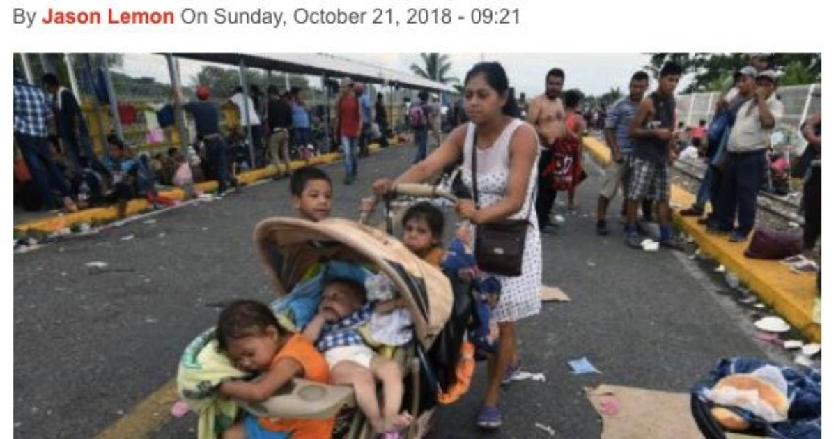 This Illegal Alien and Her Buggy Full of Babies Will Cost US Taxpayers Over Half a Million Dollars By Time They Graduate (If They Graduate)
