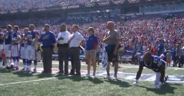 MUST SEE: NFL Approves of Bills Player Stretching, Doing Calisthenics, Walking Off Field During Anthem (VIDEO)