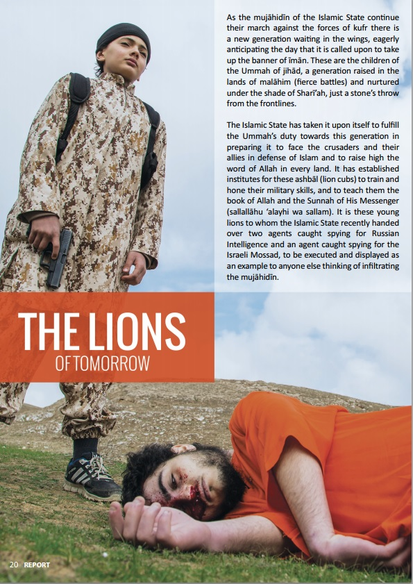 young lions isis