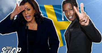 WATCH: Kamala Harris Attacks President Trump For Helping To Free A$AP Rocky From Swedish Jail
